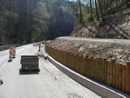 úprava silnice a nová lesní cesta